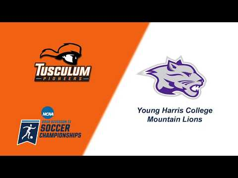 MSOC | Tusculum at Young Harris | NCAA Division II Tournament - Second Round | Nov. 11, 2018