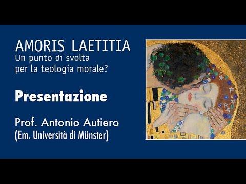 1 - Un punto di svolta per la teologia morale? (Prof. Antonio Autiero)
