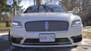 2017 Lincoln Continental | Review In 2:00 | exhausted.ca