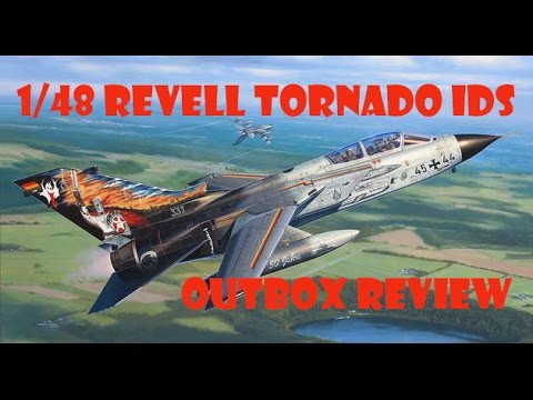 """OUTBOX REVIEW """"1/48 Revell Panavia TORNADO IDS"""""""