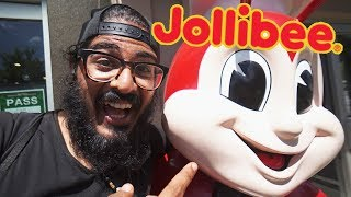 JOLLIBEE in HAWAII! Foreigners eat Filipino Jollibee in Hawaii!