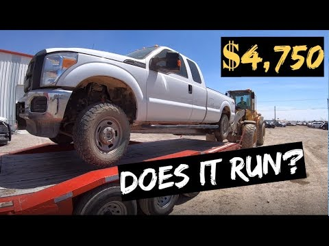 $4,750 2015 Ford F250 4x4 Auction WIN! Does it RUN?