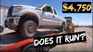 $4,750 2015 Ford F250 4x4 Auction WIN! Does it RUN? thumbnail