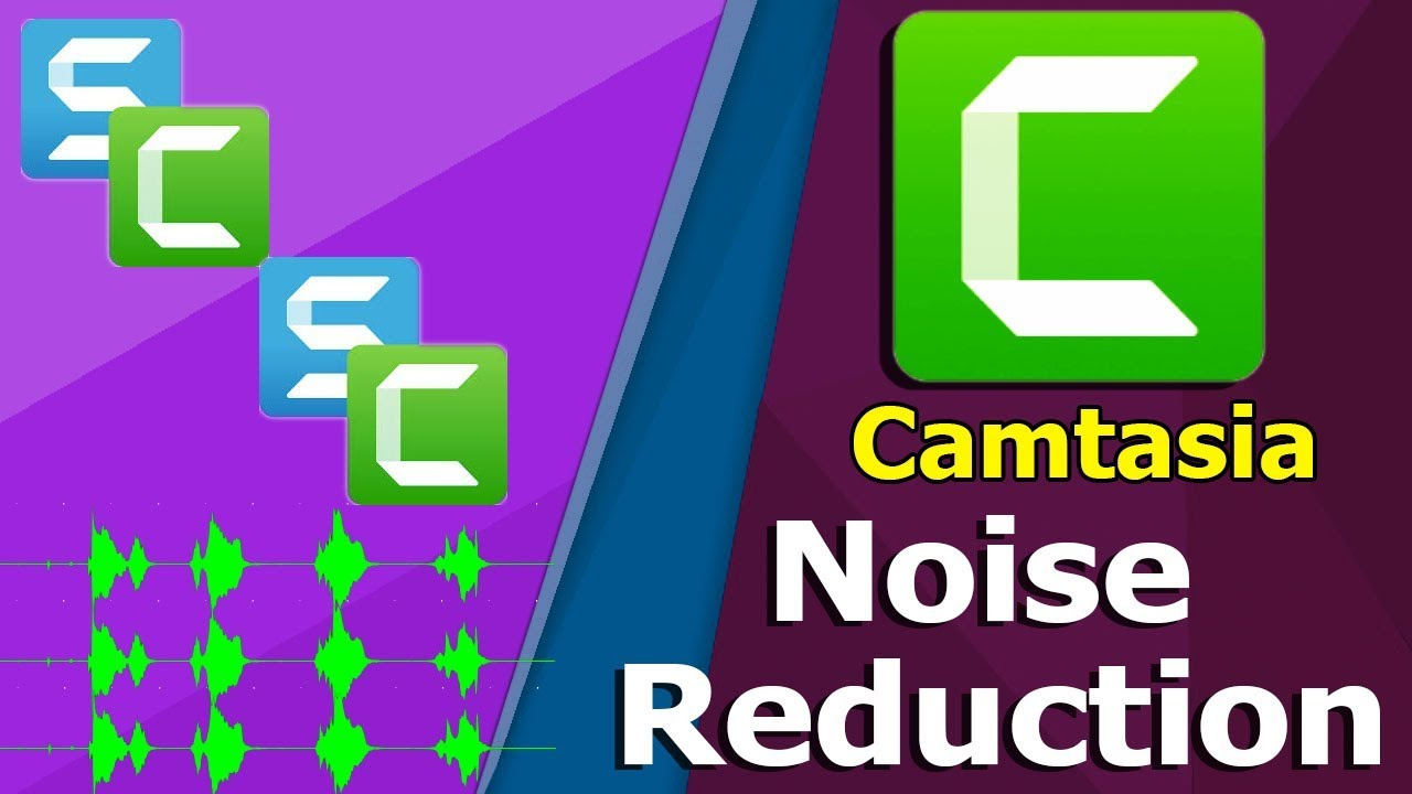 camtasia audio effects noise removal