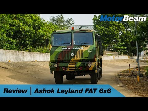 Ashok Leyland FAT 6x6 Review - Tech Loaded 🚛| MotorBeam