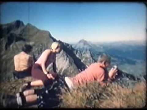 Hüttentour durch die Allgäuer Alpen von 1968