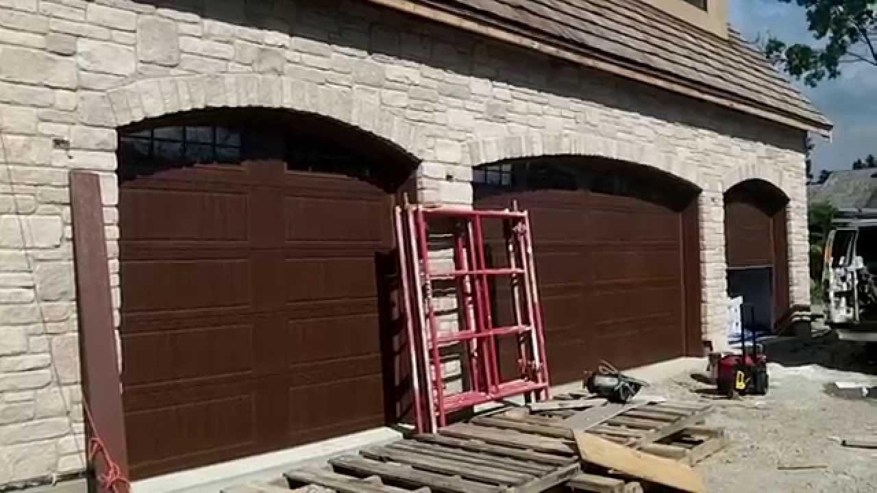 Wood Tone Hormann Garage Doors In Oak Brook,il 60523