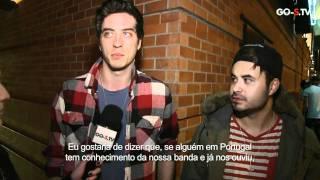 Young Guns - Interview in Lisbon, Portugal @ TMN Ao Vivo for GO-S.TV 18-12-2011