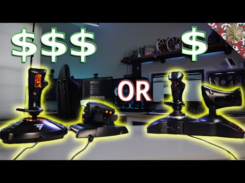 Microsoft Flight 2020 What HOTAS Should You Get?   Thrustmaster T16000M Or T.Flight Hotas X