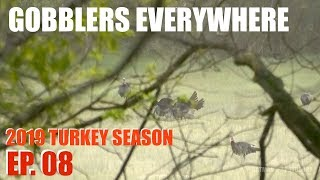 Getting Close to Fired Up Gobblers - 2019 Turkey Season Ep. 08 thumbnail