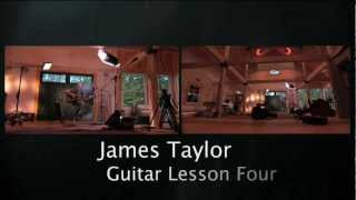 "Lesson 4: ""FIRE AND RAIN"" - Official James Taylor Guitar Lessons"