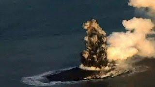 Ιαπωνία: Εγένετο νήσος... από ηφαιστειακή έκρηξη!