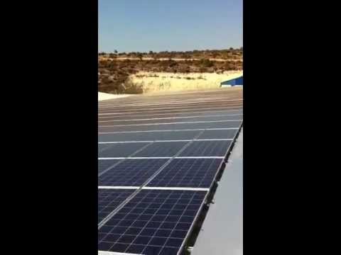 2nd Solar energy project in Limasol . Cyprus