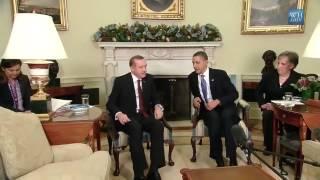Recep Tayyip Erdoğan ve Obama..  30 saniye izleyin gururlanacaksınız.!!!