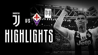 HIGHLIGHTS: Juventus vs Fiorentina - 2-1 - The Bianconeri seal the Scudetto!
