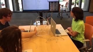 Arduino based digital optical communication system