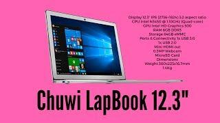 "Chuwi LapBook 12.3"" Review | 2K display | 6GB RAM | 64GB Storage"