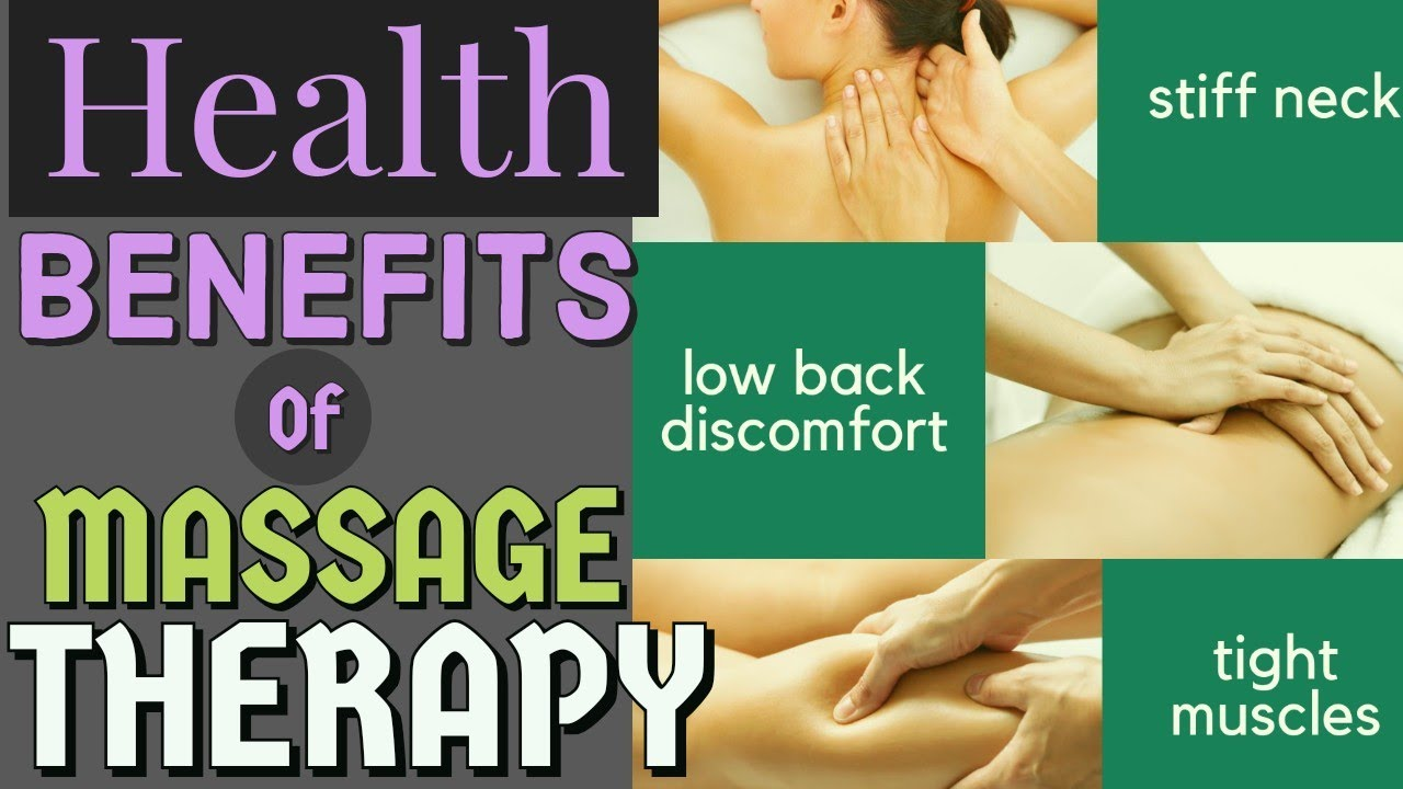 Health Benefits of Massage Therapy - by Doc Willie Ong