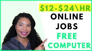Work-From-Home Jobs that Provide Equipment. Paid Training | Online, Remote Work-At-Home Jobs 2019