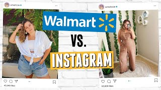 I Styled Walmart Clothes (and tricked my instagram followers)