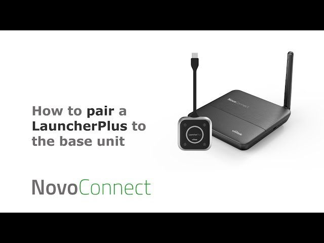 X300: How to pair a LauncherPlus to the base unit