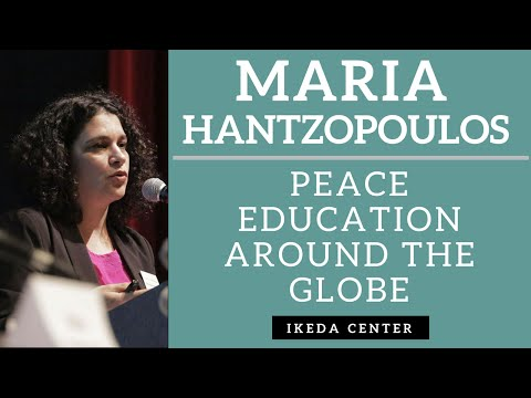 Maria Hantzopoulos - Glimmers of Hope: Peace Education Around the Globe
