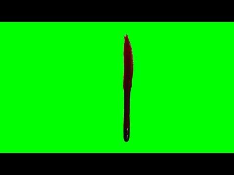 Blood Drip & Run - 3 1080p Green Screen Effects