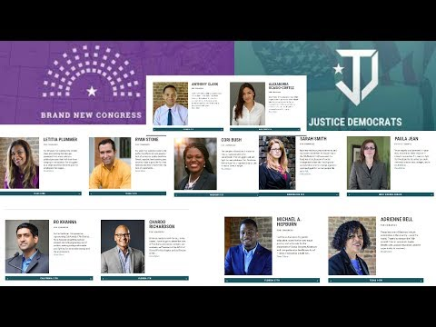 Brand New Congress & Justice Democrats Candidates ready to Fight Please Help Support