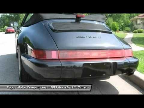 1991 PORSCHE 911 CARRERA St. Louis, MO 3-72