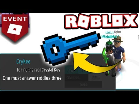 TALK TO THIS GUY TO FIND THE CRYSTAL KEY!!! (Roblox Ready Player One EVENT)