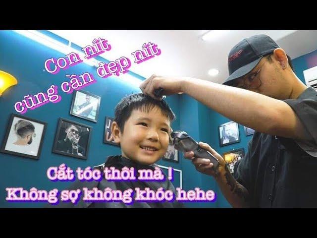 Cắt Tóc Con Nít Trẻ Em | Không Giới Hạn Lứa Tuổi | Barbershop Vũ Trí