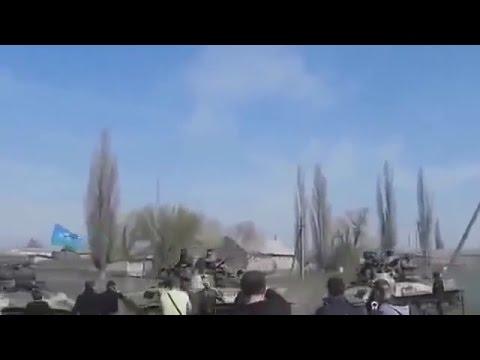 Ukraine War - Russian subversives attempts to seize Kramatorsk Ukraine