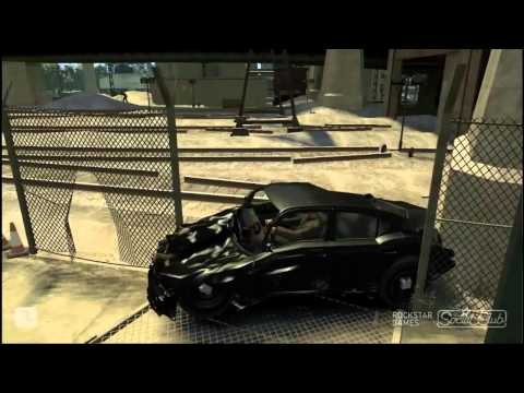 GTA IV: Crash Montage 1 (Realistic Car Damage Mod)