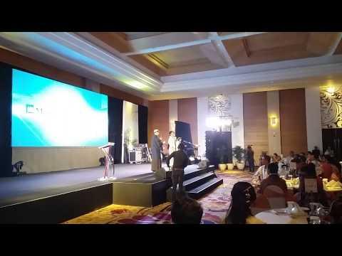 Sheila Purnama MC for The Master Sales 2014 TPD Primajaga, Awarding Night at JS Luwansa Hotel