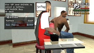 The Chain Game Mod - How to get tattoos and Katie as a girlfriend at the beginning - GTA San Andreas