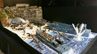 "Diorama 1/35 débarquement ""The D-day""(the making)"