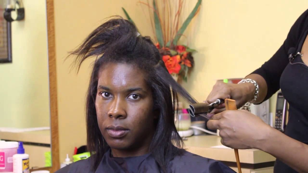 How To Straighten African American Hair Without Relaxers