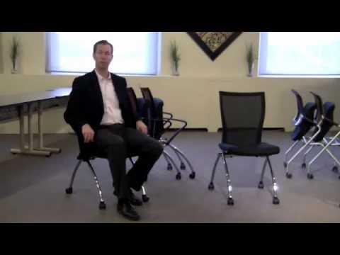 Mayline Valor Nesting Chairs Video