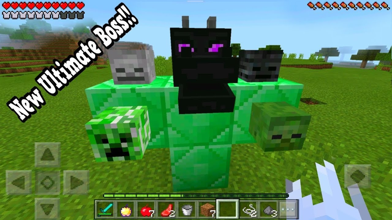 How To Spawn The New Ultimate Boss In Minecraft Pocket
