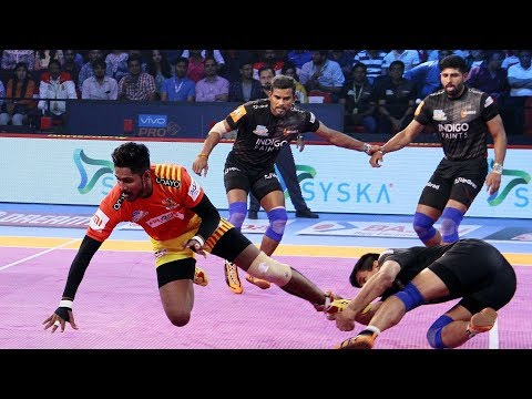 Pro Kabaddi 2018 Highlights | ​Gujarat FortuneGiants vs U Mu