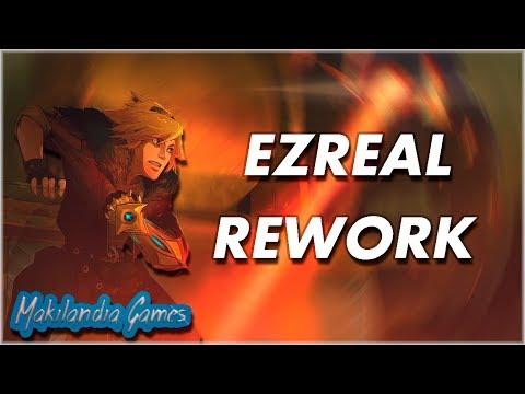 🔴 NOVO EZREAL REVELADO! REWORK IMPRESSIONANTE, VOU VOLTAR A SER MAIN EZ!