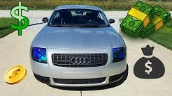 How Much Does It Cost To Own a Audi TT?