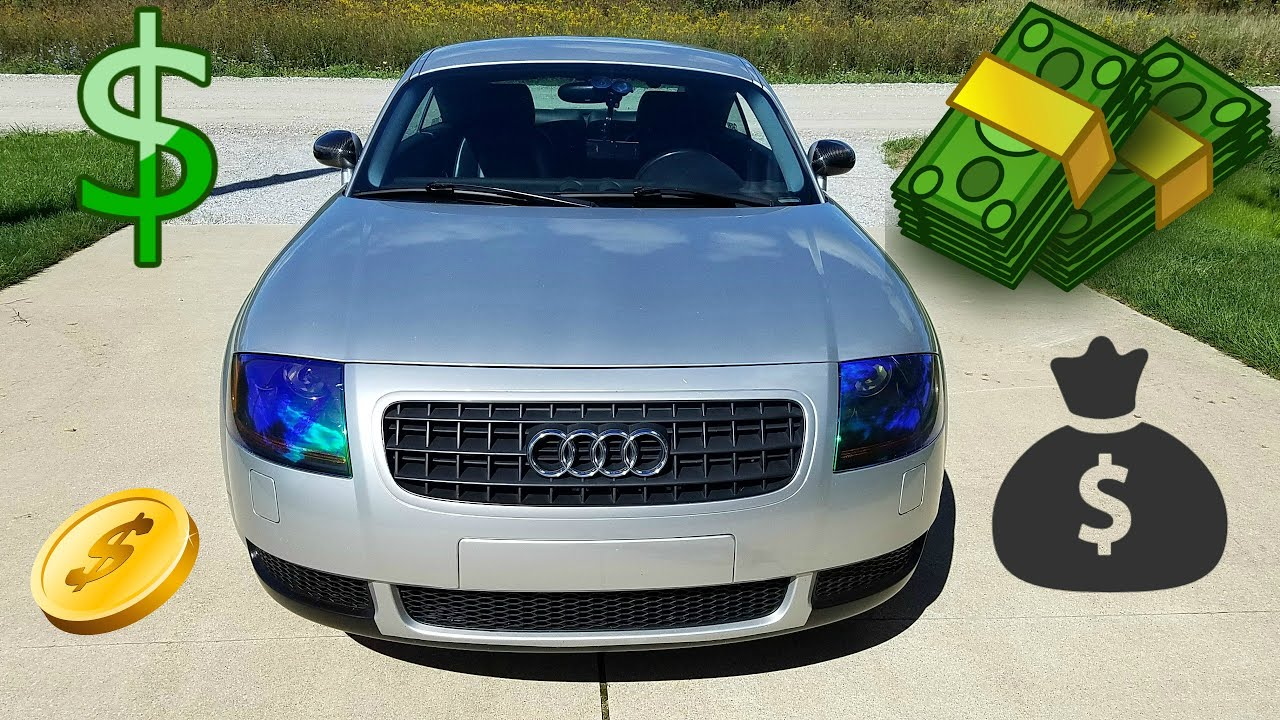 how much does it cost to own a audi tt youtube. Black Bedroom Furniture Sets. Home Design Ideas