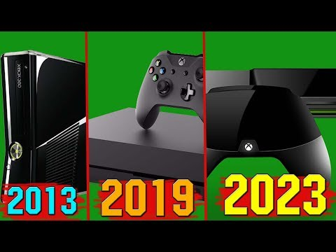 ЭВОЛЮЦИЯ XBOX - Эволюция игровых консолей Xbox (1999 - 2023)