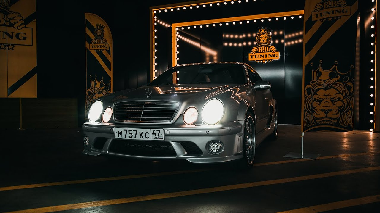 Редчайший Mercedes CLK AMG DTM