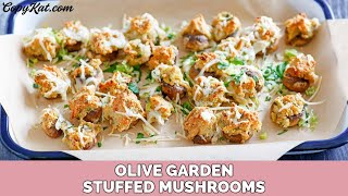 Olive Garden Stuffed Mushrooms