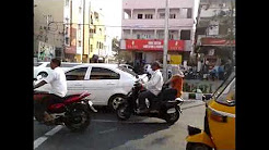 Chrysler limousine spotted at Madhapur , Hi Tech City , Hyderabad