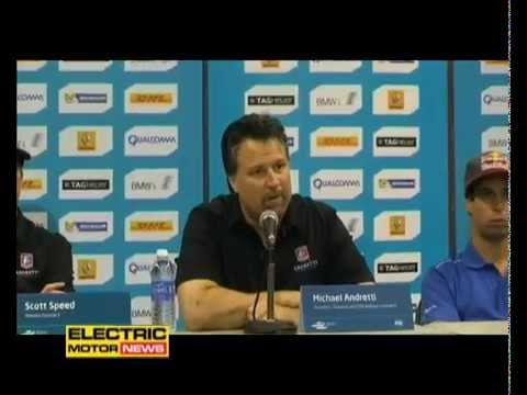 Conferenza stampa piloti e Michael Andretti - Electric Motor News in Formula E a Miami