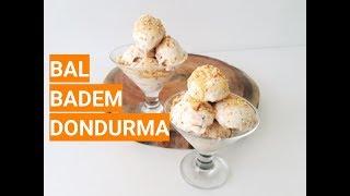 Evde Gerçek Dondurma Nasıl Yapılır Doğal Dondurma Tarifi Bal Badem Dondurma