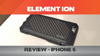 The perfect slim/protective case for people wearing suits? Element Ion Review - iPhone 6